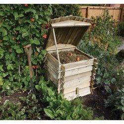 Supporting image for Wooden Composter