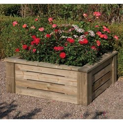 Supporting image for Heavy Duty Raised Planter - 3ft x 3ft