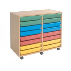 Supporting image for 16 Tray A3 Paper Storage Unit