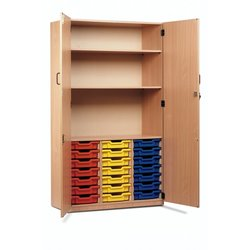 Supporting image for 21 Tray Unit Storage Cupboard
