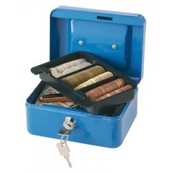 Supporting image for SPRINGFIELD 6 INCH CASH BOX BLUE