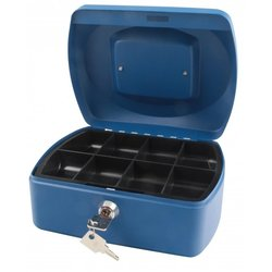 Supporting image for SPRINGFIELD 8 INCH CASH BOX BLUE