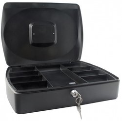 Supporting image for SPRINGFIELD 10 INCH CASH BOX BLACK