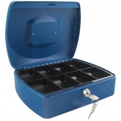 Supporting image for SPRINGFIELD 10 INCH CASH BOX BLUE