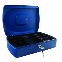 Supporting image for SPRINGFIELD 12 INCH CASH BOX BLUE