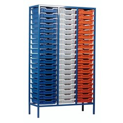 Supporting image for Static Metal Storage - 57 Tray Unit