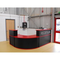 Supporting image for Coloured Reception Desk