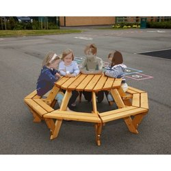 Supporting image for Infant Octagonal Picnic Bench