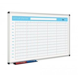 Supporting image for Magnetic Whiteboard Planner - Annual planner - 600 x 900mm