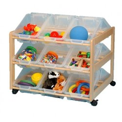 Supporting image for Creative! Double Sided 18 Tray Classroom Tidy