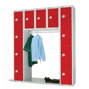 Supporting image for Cloakroom & Lockers