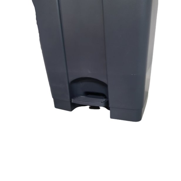 Supporting image for Heavy Duty Pedal Operated Black Bin - 90 Litre - image #3