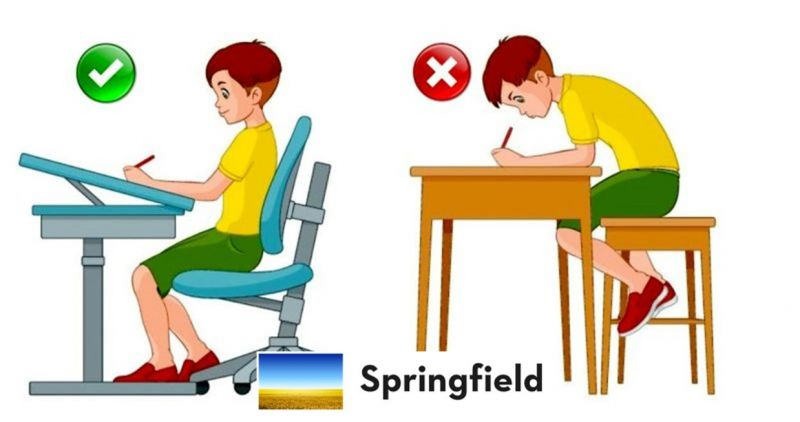 Children's writing position guidelines Springfield